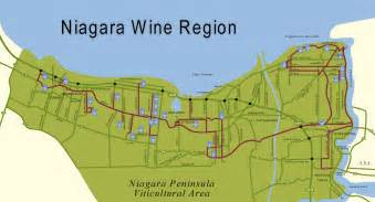 map of niagara region canada wine route the stories that i m telling