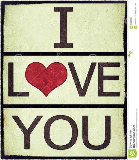 i love vintage i love you vintage grunge stock illustration image 66323685