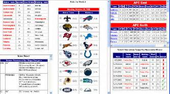 Office Football Pool Software Brewster S Nfl Football Pool By Dave Brewster At
