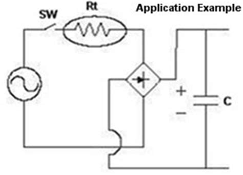ntc thermistor application simple current limiter circuit simple free engine image for user manual