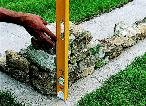 how to build a garden wall ideas advice diy at b q