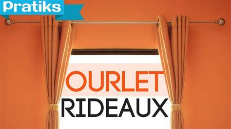 Comment Faire Un Rideau by Comment Faire L Ourlet D Un Rideau