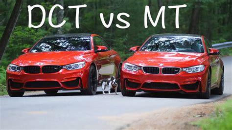 Dual Clutch dual clutch vs manual transmission dct vs mt bmw m4 m3