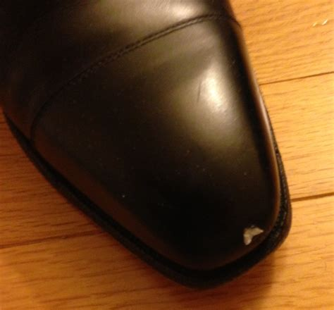 How To Repair Leather by How To Repair Shoe Leather Quot Chip Quot Styleforum