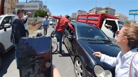 motosiklet kazasi sonrasi tartisma kim ne kadar hatali