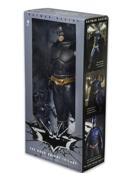 figure packaging neca batman begins 1 4 scale batman packaging the