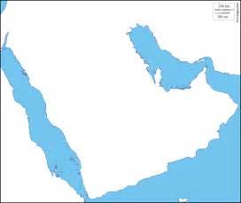 Arabian Peninsula Blank Map by Gallery For Gt Blank Map Of Arabian Peninsula