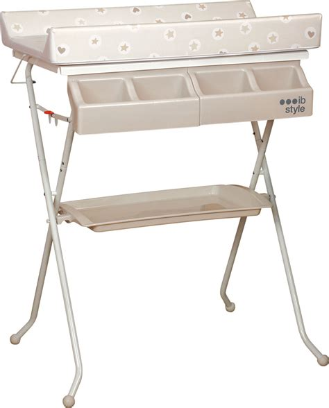 Folding Baby Changing Table 2 In 1 Changing Table And Bath Foldable Baby Nappy Tub Clean Change