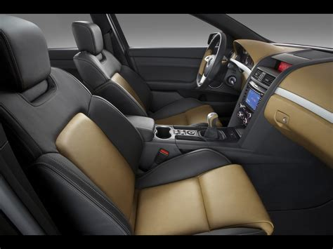 Interior Upholstery For Cars by 2008 Pontiac G8 Gt Show Car Interior 1920x1440 Wallpaper