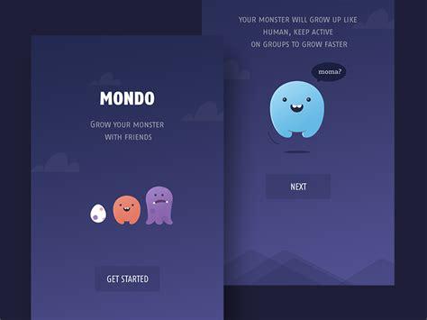 social network layout inspiration onboarding inspiration for mobile apps muzli design