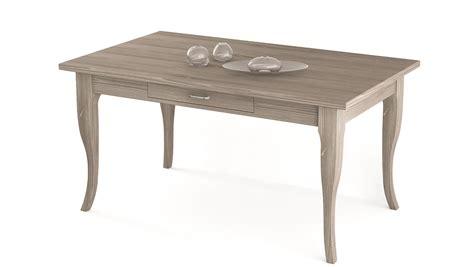 tavolo con cassetto tavolo rettangolare gambe a sciabola con cassetto scandola