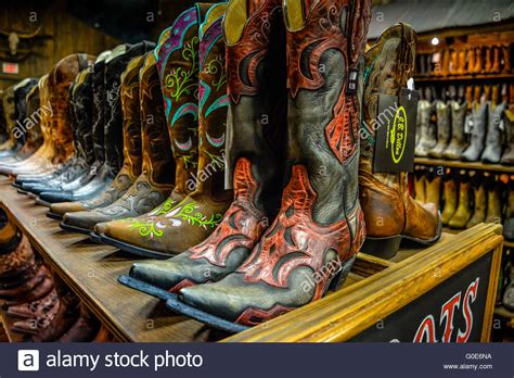 cowboy boot store the nashville cowboy boot store has rows of unique cowboy