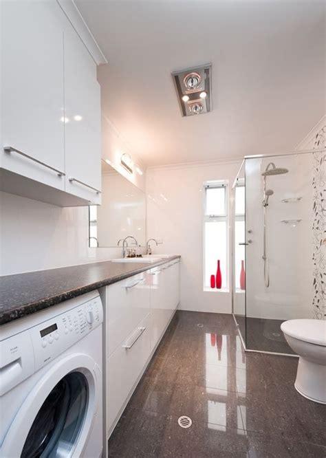 laundry in bathroom combo floor plan arredamento