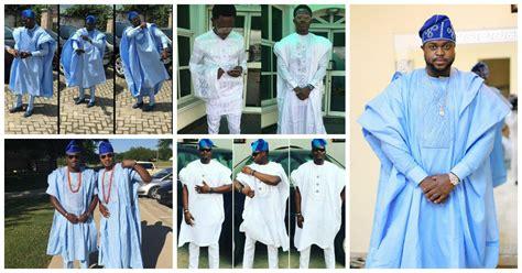 Yoruba Demon: Outstanding Agbada Styles.   Amillionstyles.com