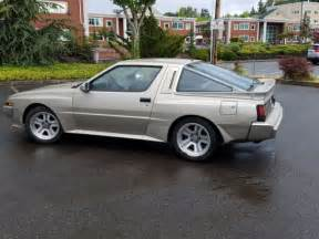 mitsubishi conquest 1988 mitsubishi starion chrysler conquest tsi for sale