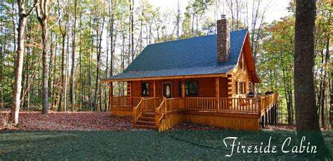 Hocking Log Cabins by Fireside Cabin Hocking S Cave Ohio