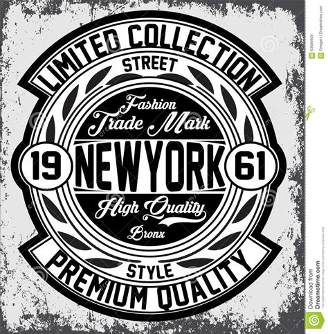 typography nyc vintage new york typography t shirt graphics vectors