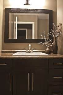 Bathroom Vanity Mirror Espresso Bathroom Brown Vanity Mirror Espresso Shaker