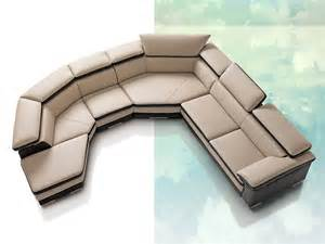 ultra modern leather sectional sofas part i furniture