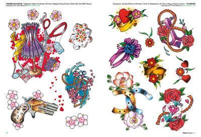 fiori school flower tattoos 2