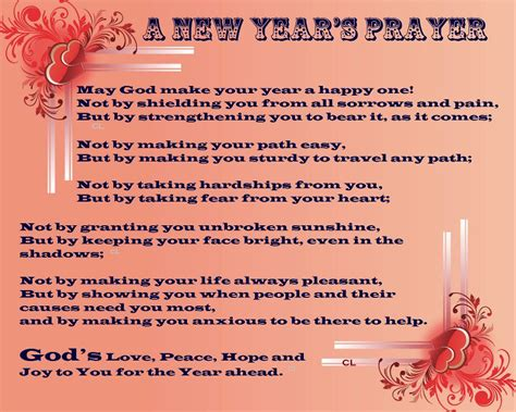 best prayers for welcoming the new year happy new year s prayer new year better