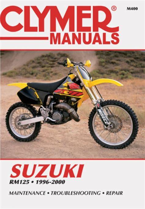 2000 Suzuki Rm125 by Suzuki Rm125 Motorcycle 1996 2000 Service Repair Manual