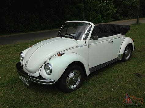 volkswagen beetle white convertible 1974 volkswagen beetle karmann convertible white