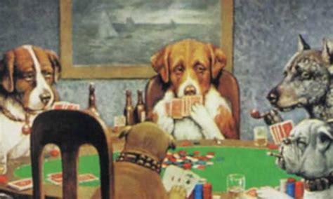 imagenes de animales jugando poker mec perros jugando al poker