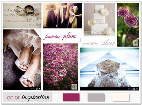 my plum and silver wedding vision just another site