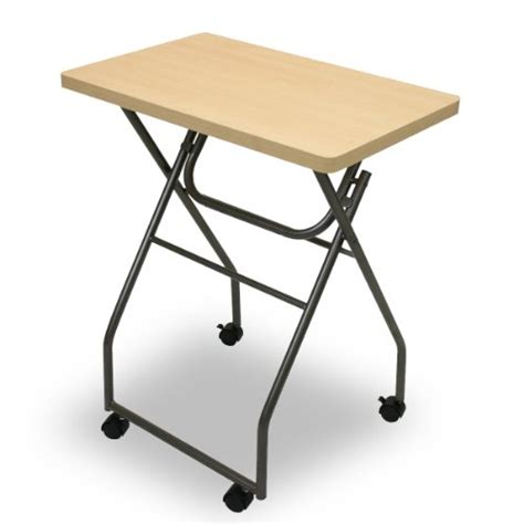 Folding Tv Tray Table Portable Folding Adjustable Multi Purpose Laptop Computer Stand Bed Tray Table Ebay