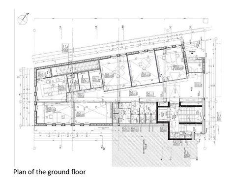 admin building floor plan gallery of the oeko center administrative building