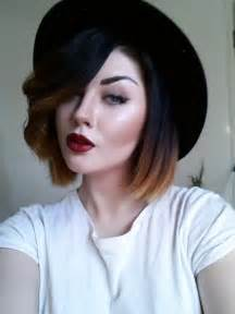 black with haircuts and color short ombre hair beauty and fashion