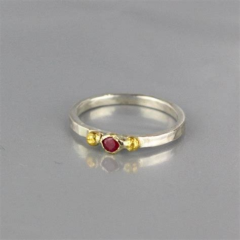 minimalist wedding rings minimal stacking ring ruby wedding band ruby engagement
