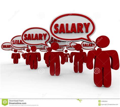 work speech salary words speech bubbles talking pay