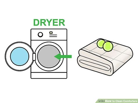 tennis balls in dryer with comforter how to clean comforters 13 steps with pictures wikihow