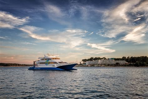 ferry venice to croatia istria to venice excursion with fast ferry prince of venice