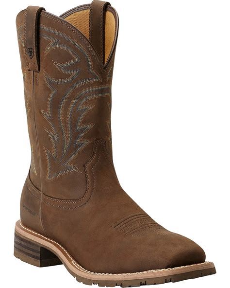 ariat boot ariat s waterproof hybrid rancher boots boot barn