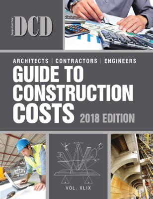 the independent guide to 2018 books dcd guide to construction costs 2018