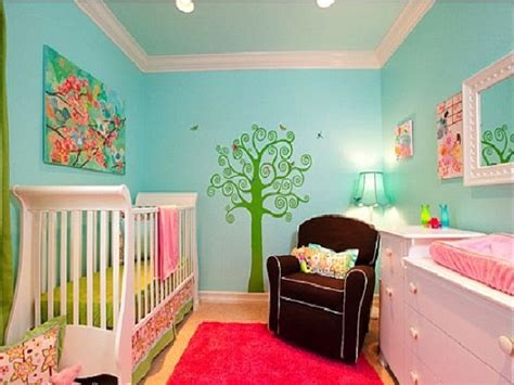 girl themes nursery floral pink aqua nursery baby girls nursery themes