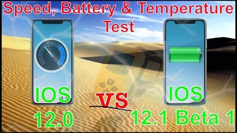 iphone  max ios   beta    speed test