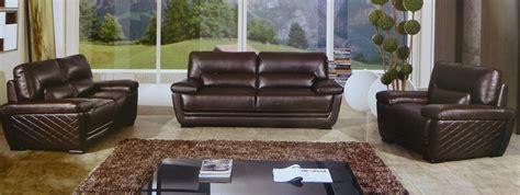 brown leather sofa sets clark 3 italian top grain brown leather sofa set