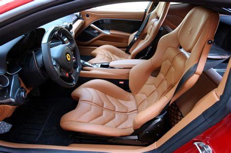 ff inside f12 berlinetta interior