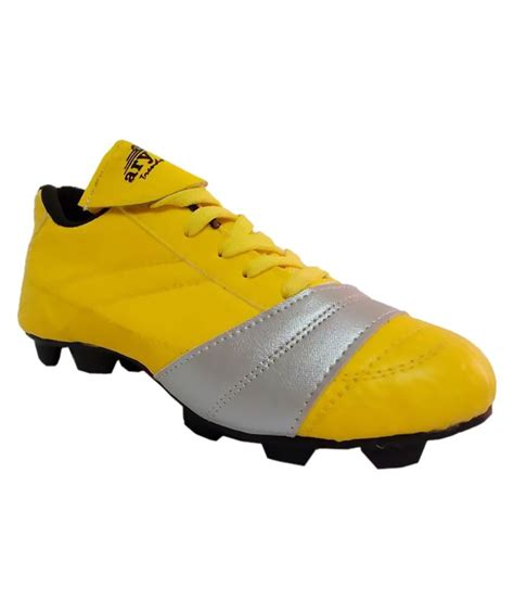 football sports shoes aryans yellow football sport shoes price in india buy