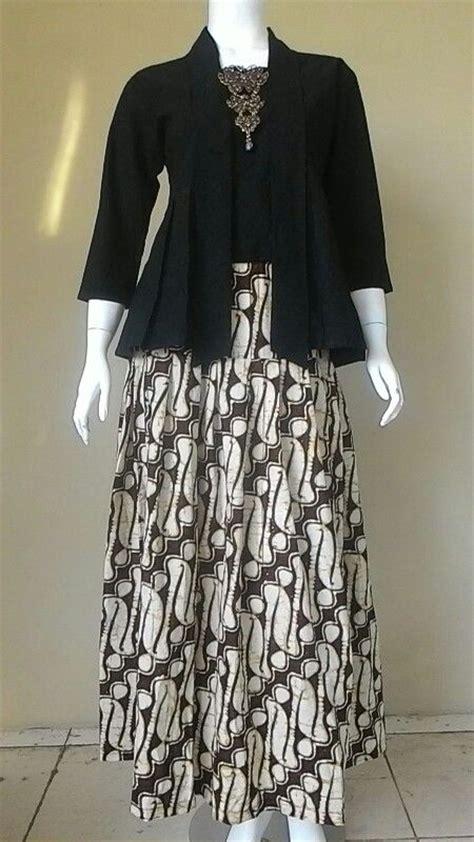 Dress Batik Hitam 76 best images about kebaya on brokat sarongs and traditional dresses