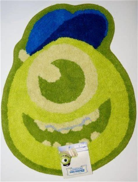 disney pixar monsters inc bathroom shower mat