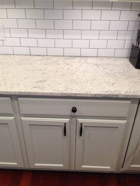 White Tile Countertops by Swiss Coffee Is A Light Greige Color It S