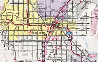 Maps Of Las Vegas by Map Of Las Vegas Las Vegas Maps Mapsof Net