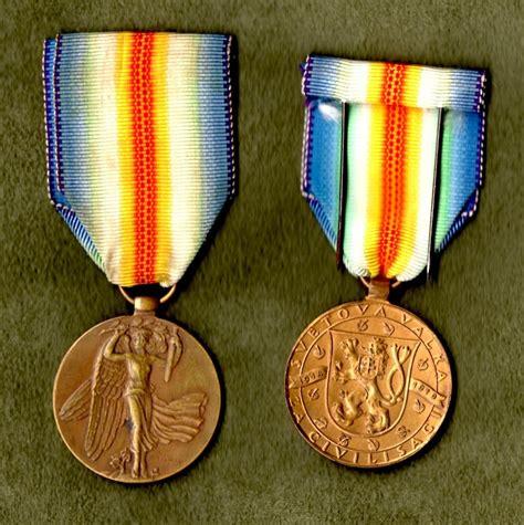Czechoslovakia Ww1 Medal Victory Interallied 1914 Wwi D the wwi victory medal series czechoslovakia collectors weekly