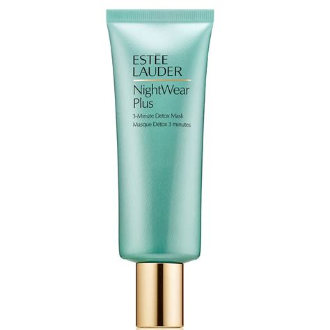 Estee Lauder Defend By Day Detox By by Est 201 E Lauder Nightwear Plus 3 Minute Detox Mask