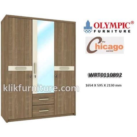Cek Lemari Olympic wrt0110892 lemari 3 pintu chicago olympic new